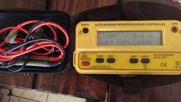 Insulation tester for sale
