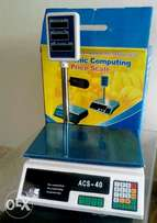 Digital electronic weighing, price computing scale