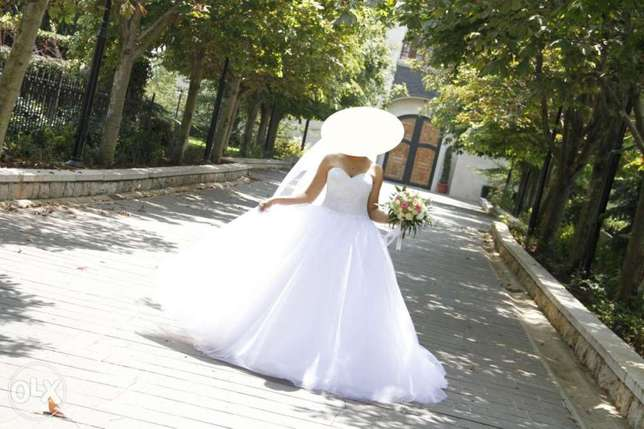 Haute couture wedding dress for sale