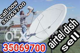 airtel dish sele and fixing and shipping