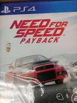 Need for speed pay back on ps4