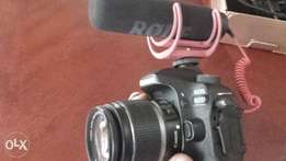 Rode Mic for Canon or Nikon camera