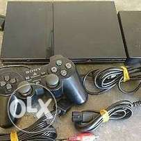 Playstation 2 console with ANY 15 LATEST games