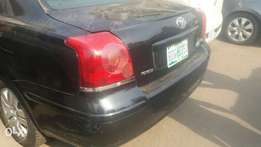 Bought Brand New Toyota Avensis 2005 Model
