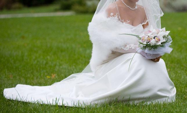 61438b6f62928a3 Атласное свадебное платье Mori Lee: 1 100 грн. - Свадебные платья ...