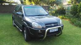 Hyundai Tucson GLS manual 2007