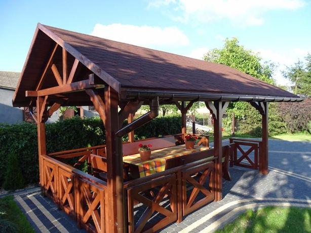 Wiata Turystycznaaltanaaltankapłoty Balustrady Drewniane