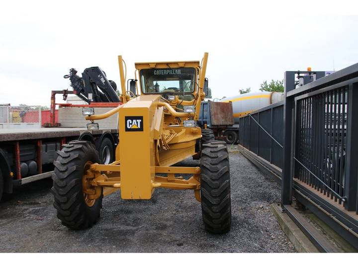 Caterpillar CAT 140H + 6 new tires + 7000 h - 2007