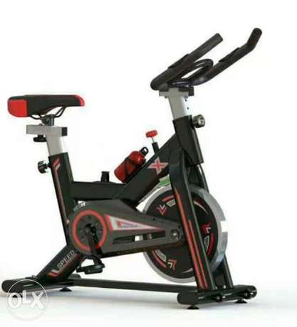 New spinning cycle gym machine