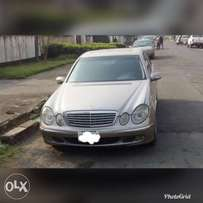 Super clean Naija Used 2004 E320 Benz sedan for sell in Portharcourt