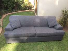 Grey 3 Seater Coricraft Couch
