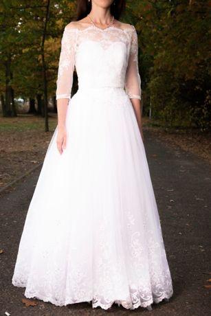 Suknia ślubna Model Afrodyta Yes Rozmiar 3436 Wiązana Wzrost 160cm
