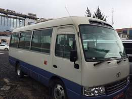 Toyota Coaster (diesel automatic)