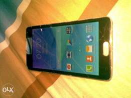 Samsung galaxy note4 cracked touch