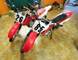 2009 and 2011 Honda CRF's 80 cc For Sale!