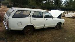 Nissan datsun kva station wagon 1 kick start 50k