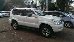 Toyota Landcruiser Prado 2008, 120 Series.original paint