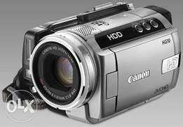 Ex-uk clean canon camcorder camera HG10/HDD