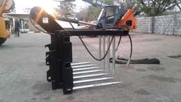 We manufacture silage grabs to your specifications