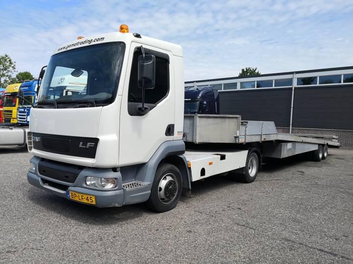 DAF LF45-180 4x2 Euro3 - C1 - Kuiper Trailer - Hydraulic load... - 2004