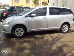 Toyota wish.680ksh quick sale