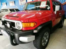 2012 Toyota FJ Cruiser 4.0 V6 4X4 AUTOMATIC red