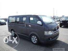 Super GL Matatu hiace box auto diesel 2010 7l finance terms accepted