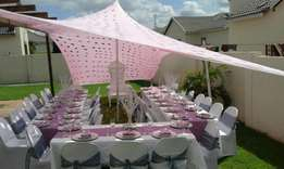 Events decor, weddings, birthdays, baby showers, family gatherings etc