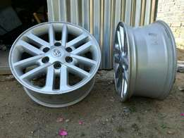 Toyota Hilux and Fortuner Rims For Sale