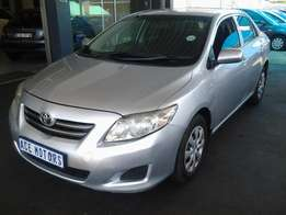 2009 Toyota Corolla Professional 1.3 for sale R105000
