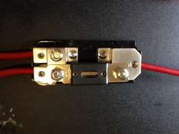 Car Amp Power cable distribution block
