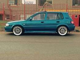 Cleanest Toyota Tazz around