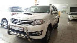 2015 Fortuner 3.0D 4x4 A/T