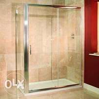Shower 1200x1900x800 Double swing doors with return panel.brand new