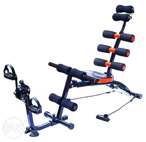 Brand New Six Pack Care Machine + Pedals (7 modes)