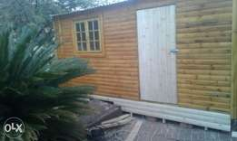 5x2 log wooden office for sale
