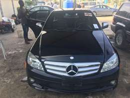 Newly acquired Benz C300 for sale