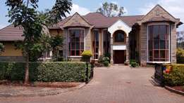 Magnificent 5 bedroom house plus 2sqs to let in Runda