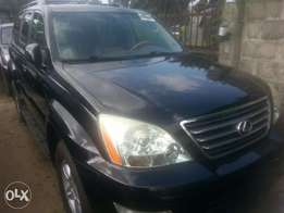 Direct foreign used tincan cleared tokunbo lexus gx470 04 fuloption