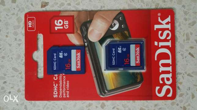 ScanDisk Camera SDHC Card 16 GB