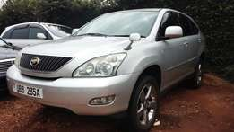 New Toyota Harrier New Shape UBB in a perfect condition for sale