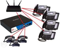 Ip pbx phone system for communication