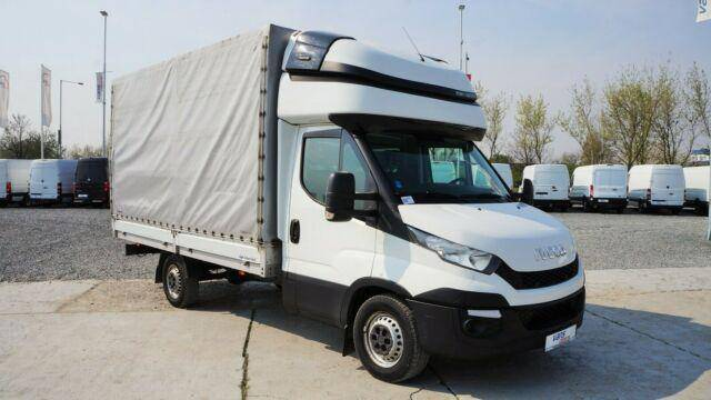 Iveco DAILY 35S17 PRITSCHE+PLANE 8 PAL./ KLIMA - 2015