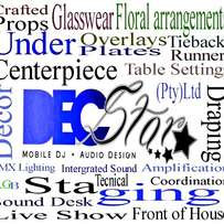 Decstar (Pty)Ltd. We do events, We are a young company and modernised