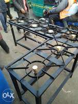 Six commercial gas cooker