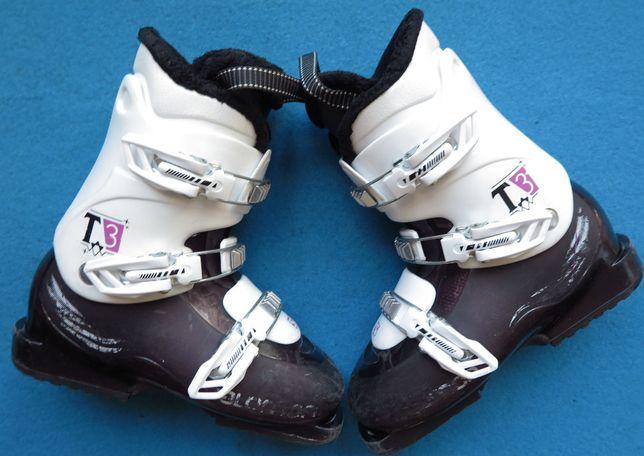 Buty narciarskie SALOMON T3 39,5 25,5 dziecięce uzywane