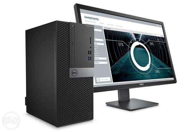 "DELL OPTIPLEX 7040-i7-16GB RAM-1TB-HDD‐ 23""LED monit"