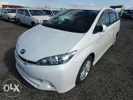 Toyota Wish 2010 Model Automatic Transmission 2WD Pearl White KCN