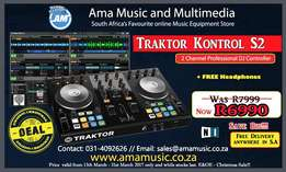 Native Instruments Traktor S2 includes free delivery anywhere in SA
