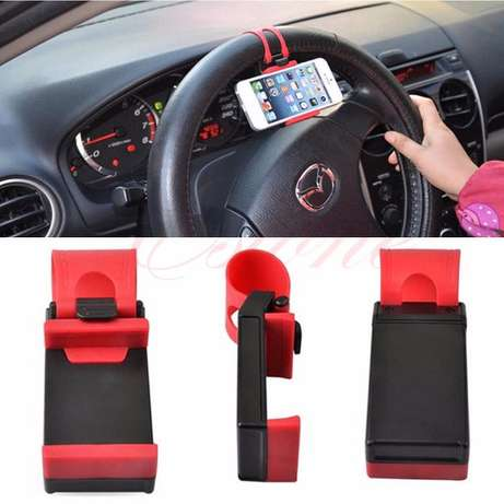 Car Steering Wheel Mobile Phone Holder Nairobi CBD - image 2